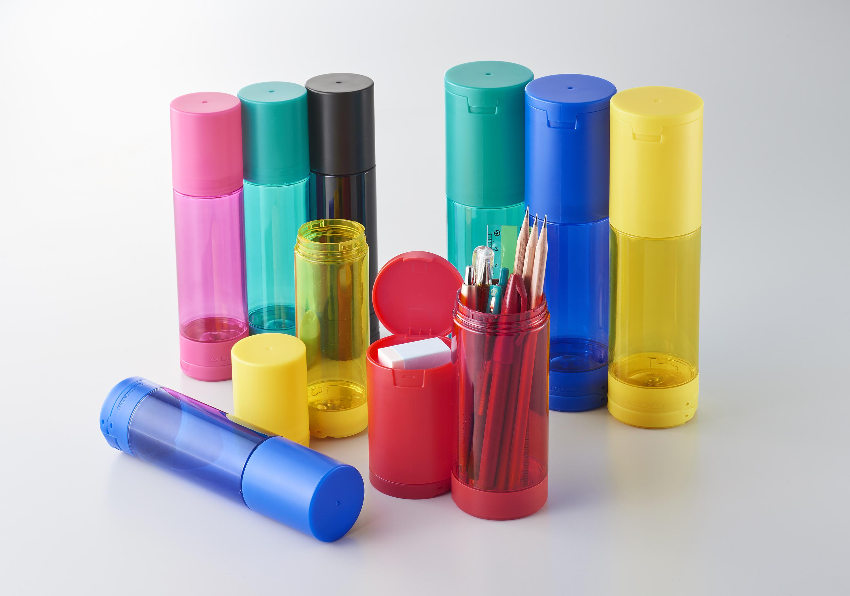 Octotatsu 章魚吸盤彩色筆筒