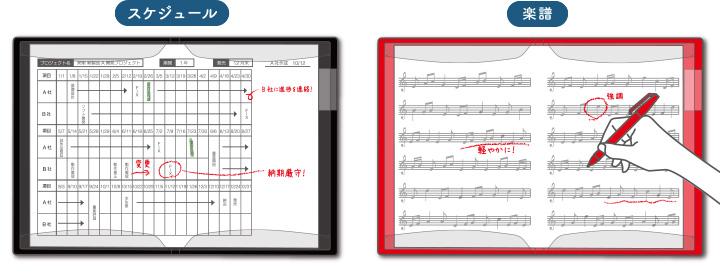 スケジュール 楽譜