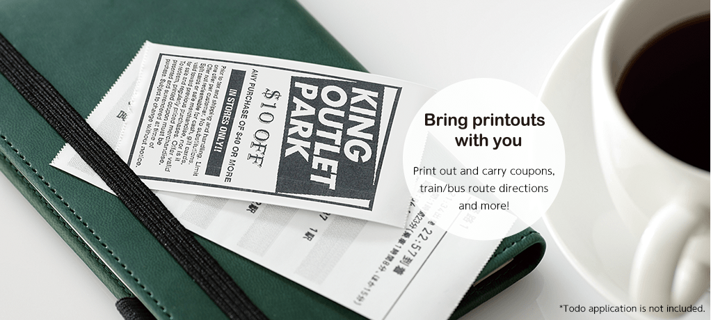 Bring printouts